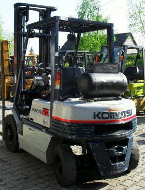 Wózek widłowy KOMATSU FD20-7